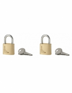 Jeu de 2 Cadenas Type 1 • 20 mm s'entrouvrant 4 clés 00161024