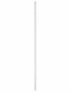GACHE Serrure en applique réver. pour porte à recouv. hauteur 2250 mm maxi, blanc 00073082