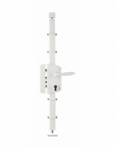 BOITIER de Serrure en applique MELISSA blanche à fouillot 85 x 174 mm gauche 00050831
