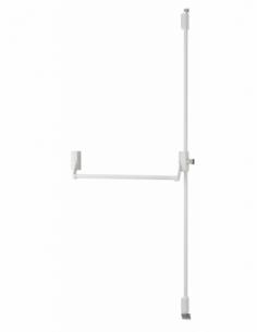 Serrure en applique ANTIPANIQUE 2/3 points haut et bas réversible laqué blanc porte maxi 1150 mm 00009541
