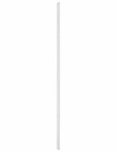 GACHE standard Serrure en applique réver. pour porte hauteur 2250 mm maxi, blanc 00073078