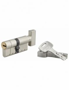 Cylindre de Serrure Federal S - à bouton 32x32mm SN 5 clés 00203733