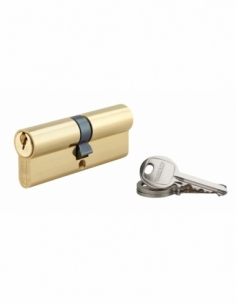 Cylindre de Serrure 40 x 40 mm 3 clés 00916189