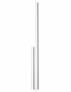 KIT RALLONGE haut - bas laqué gris pour porte hauteur 3,00 m maxi 00009514