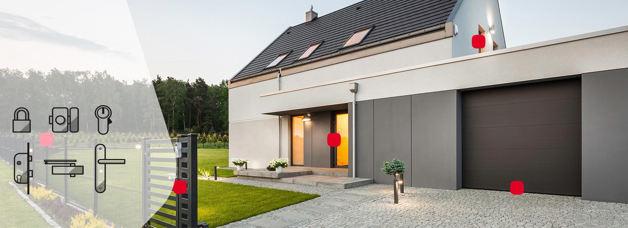Thirard sécurise votre maison et ses extérieurs