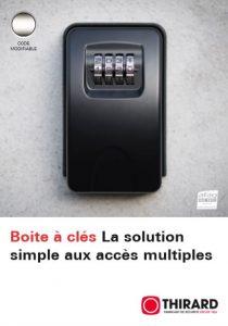 Boite à clés la solutionsimple aux accès multiples