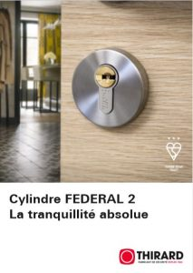 Cylindre FEDERAL 2 La tranquilité absolue
