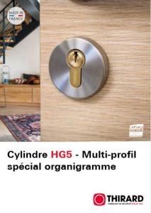 Cylindre HG5 - Multi-profil spécial organigramme