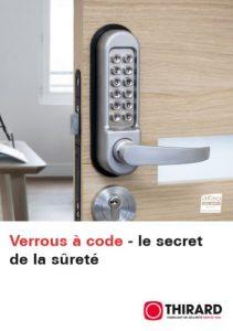 Verrous à code - le secret de la sûreté